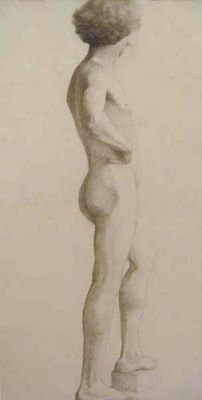 Male Nude by Unknown