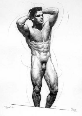 Ignudo3 by Manolo Yanes