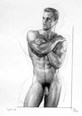 Ignudo4 by Manolo Yanes