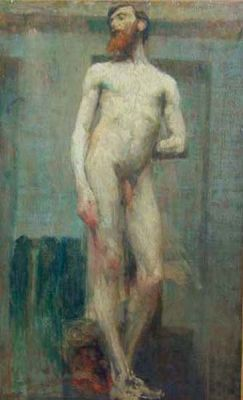 Male Nude Impression by Anonymous