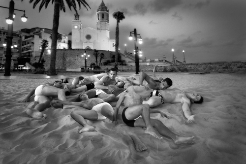 Spain Sitges by Hans Withoos