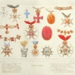 Crosses and Orders by H. de Viel-Castel