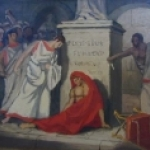 Death of Pompei by Madeleine Leroux