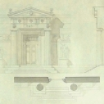 Pair of Architectural Drawings by P.L. Paquet