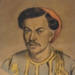 Orientalist Portrait by Anonymous